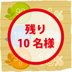 【残り10名様】定期預金サービス