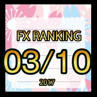 FX無料EA人気ランキング 2017年03月10日配信