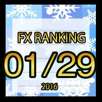FX無料EA人気ランキング 2016年01月29日配信