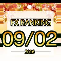 FX無料EA人気ランキング 2016年09月02日配信