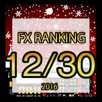FX無料EA人気ランキング 2016年12月30日配信